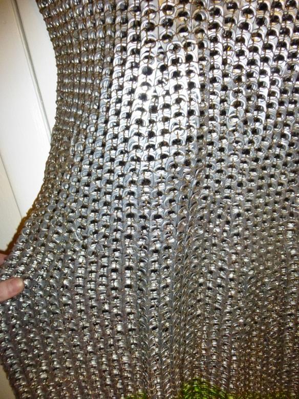 Poptab Armor - Pattern Detail