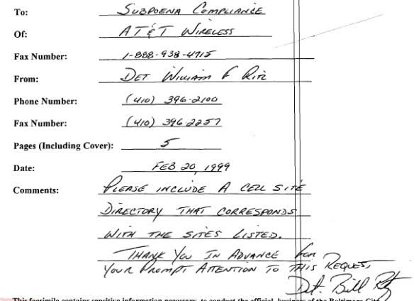 Fax - Subpoena - 2-20-00