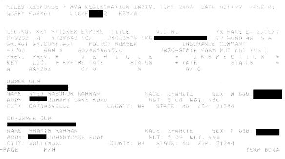 MVA Report - Honda - 2-11-99